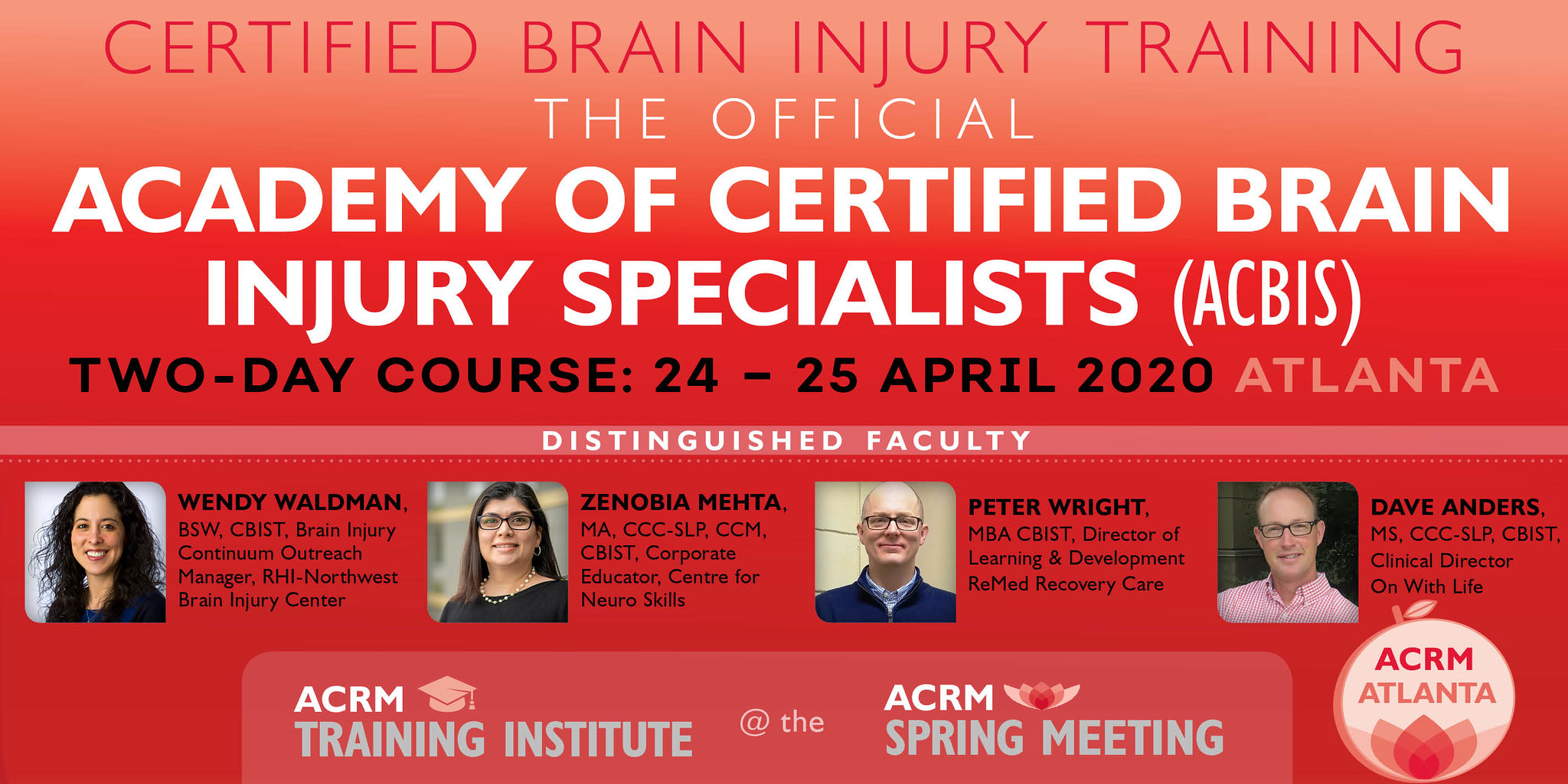 Academy of Certified Brain Injury Specialists (ACBIS) Training image