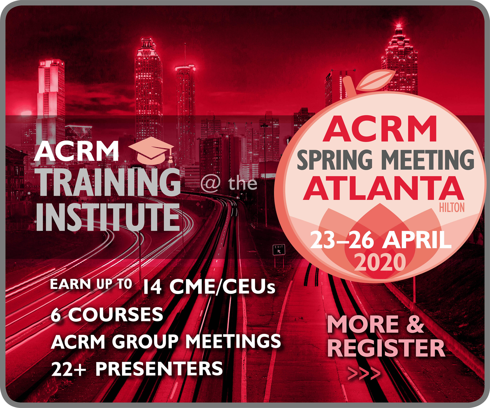 ACRM Training Institute 24-25 April 2020 Atlanta