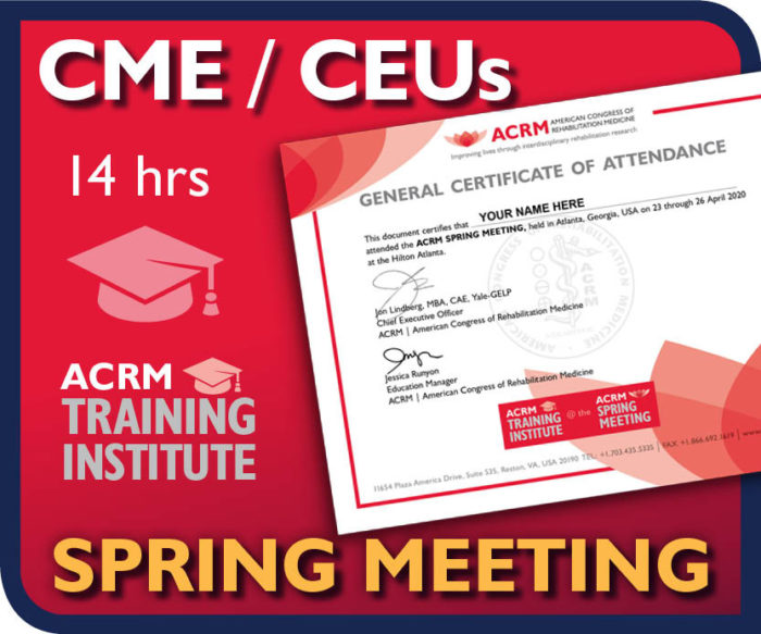 Offering up to 14 hours of CME/CEUs in your choice of 11 disciplines