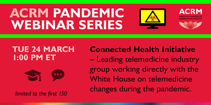 ACRM Pandemic Webinar Series graphic