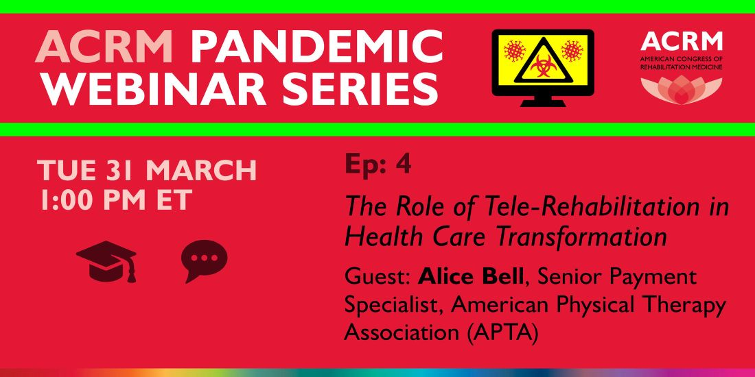 Image - ACRM Pandemic Webinar Series with APTA