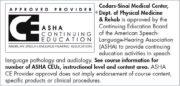 ASHA Continuing Education