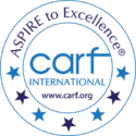 CARF International logo
