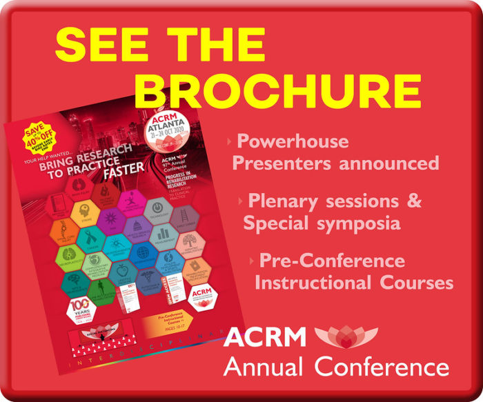 See the ACRM Annual Conference Brochure image
