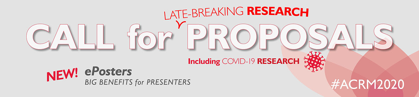 Call for Late-Breaking Research Proposals including COVID-19