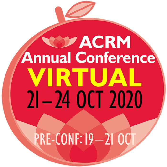 ACRM VIRTUAL 97th Annual Conference
