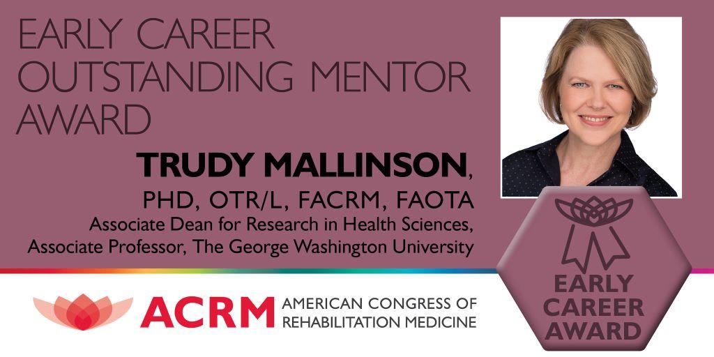 Early Career Outstanding Mentor Award banner