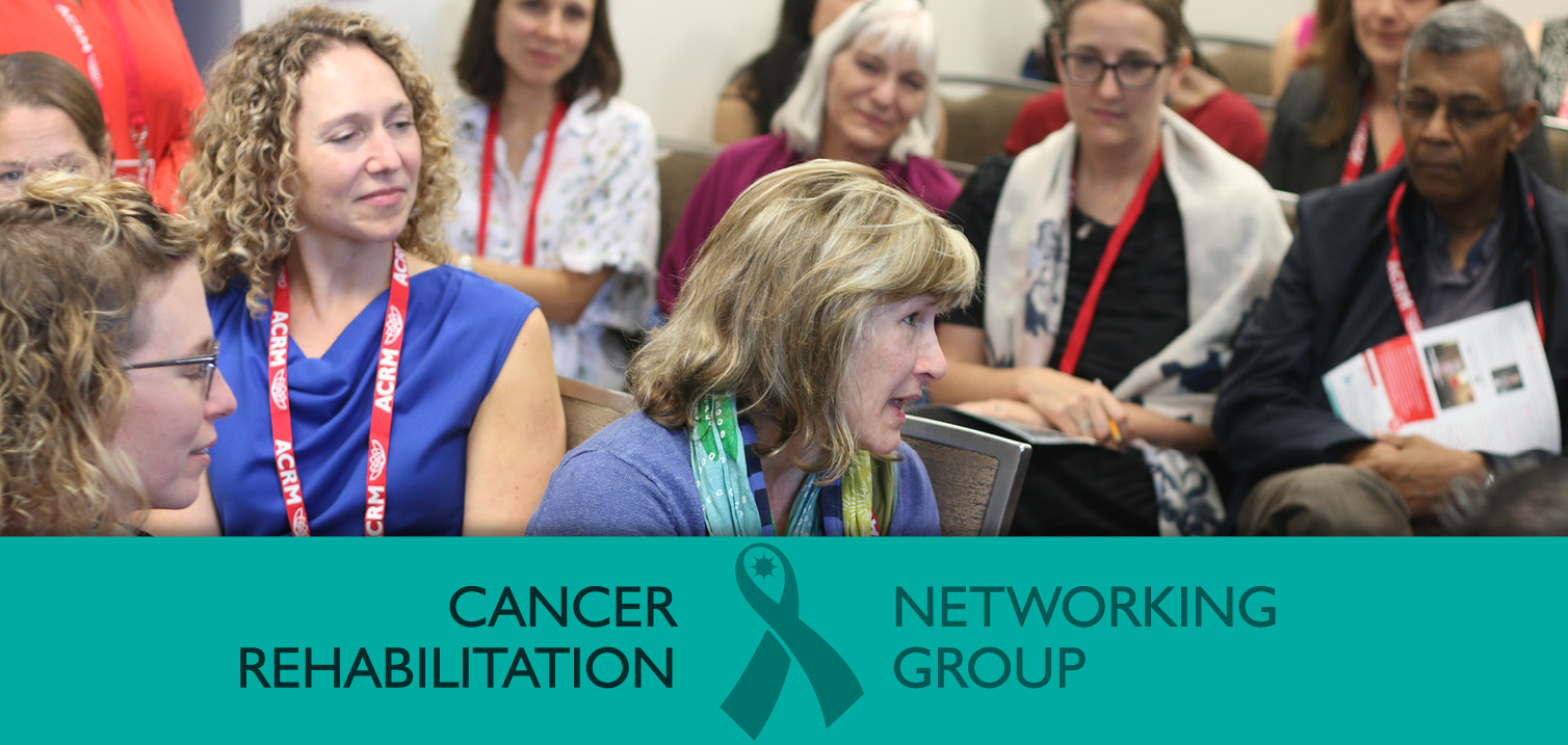 ACRM Cancer Rehabilitation Networking Group image