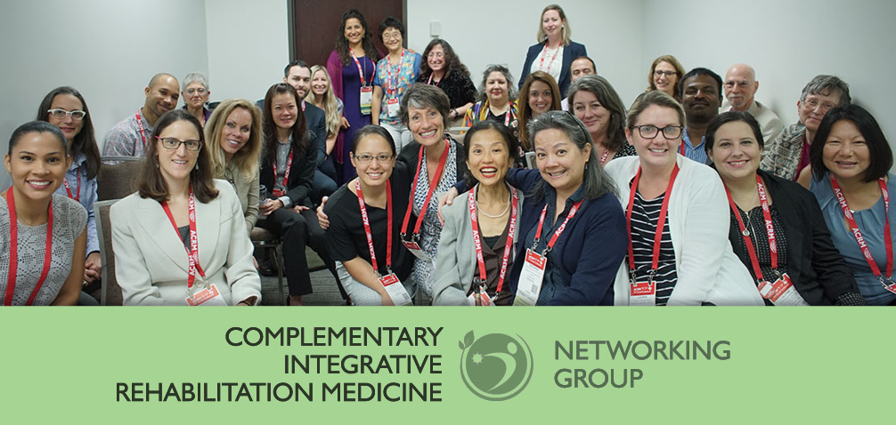 ACRM Complementary Integrative Rehabilitation Medicine Networking Group image