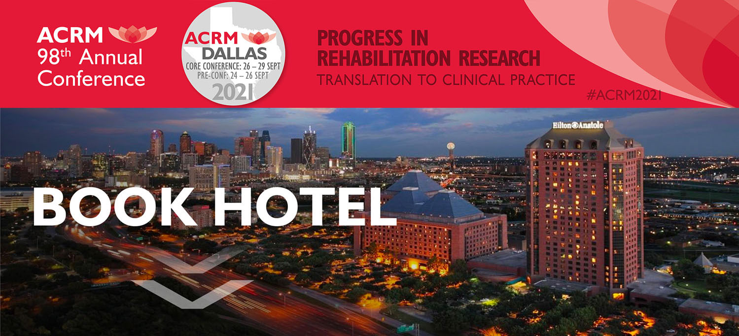 ACRM 2021 Annual Conference BOOK HOTEL