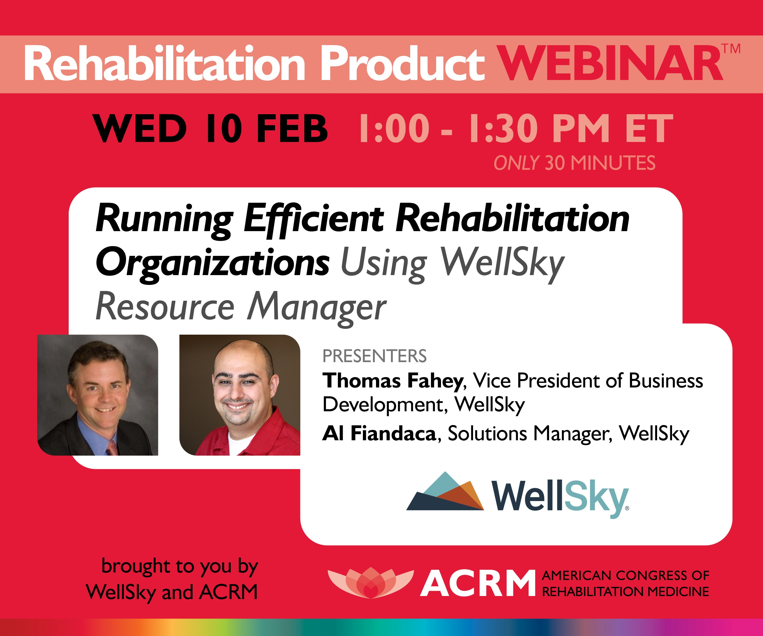 Rehabilitation Product Webinar: WellSky image