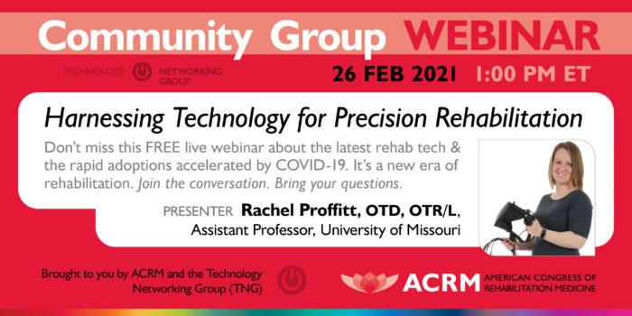 Tech Talk Webinar with Rachel Proffitt