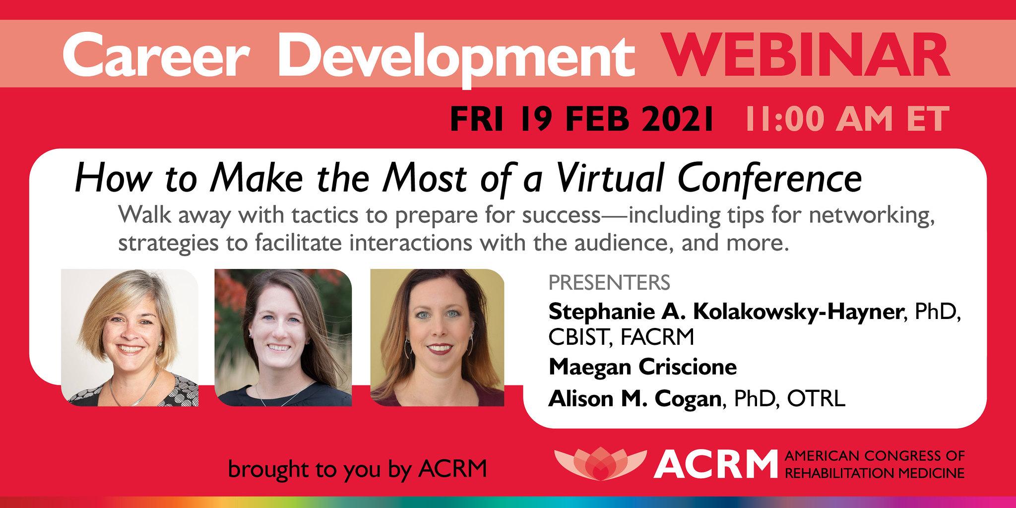 ACRM Career Development webiner image