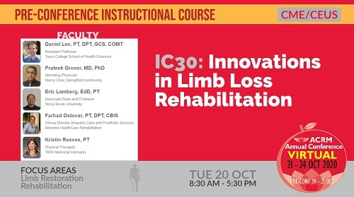 IC 30 Innovations in Limb Loss Rehabilitation