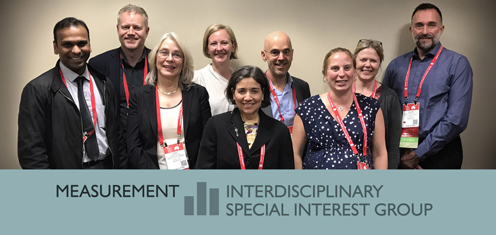 Click here to visit the Measurement Interdisciplinary Special Interest Group webpage