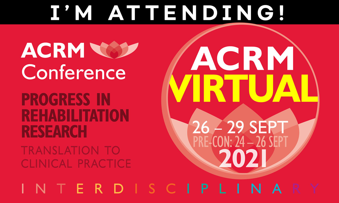I'm Attending! ACRM 98th Annual VIRTUAL Conference #ACRM2021