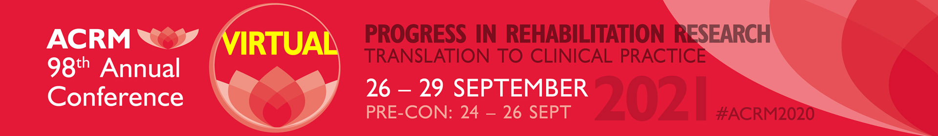 ACRM 98th Annual Conference header