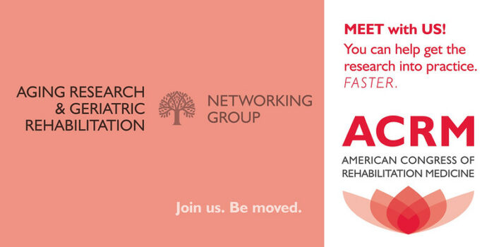 Meet with the ACRM Aging Research & Geriatric Rehabilitation Networking Group image
