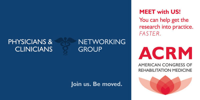 Meet With the ACRM Physicians & Clinicians Networking Group banner