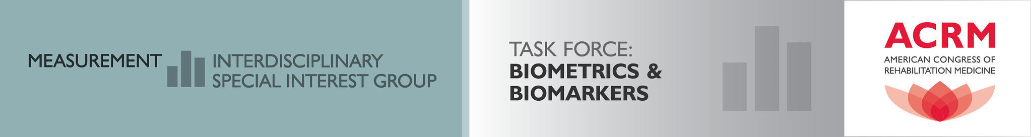 ACRM Measurement ISIG Biometrics & Biomarkers Task Force banner