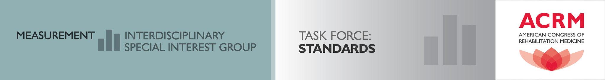 ACRM Measurement ISIG Standards Task Force banner