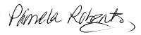 Pamela Roberts signature image