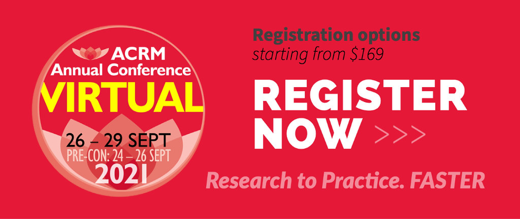Register Now for the ACRM Annual Conference at the LOWEST Early Bird rate image