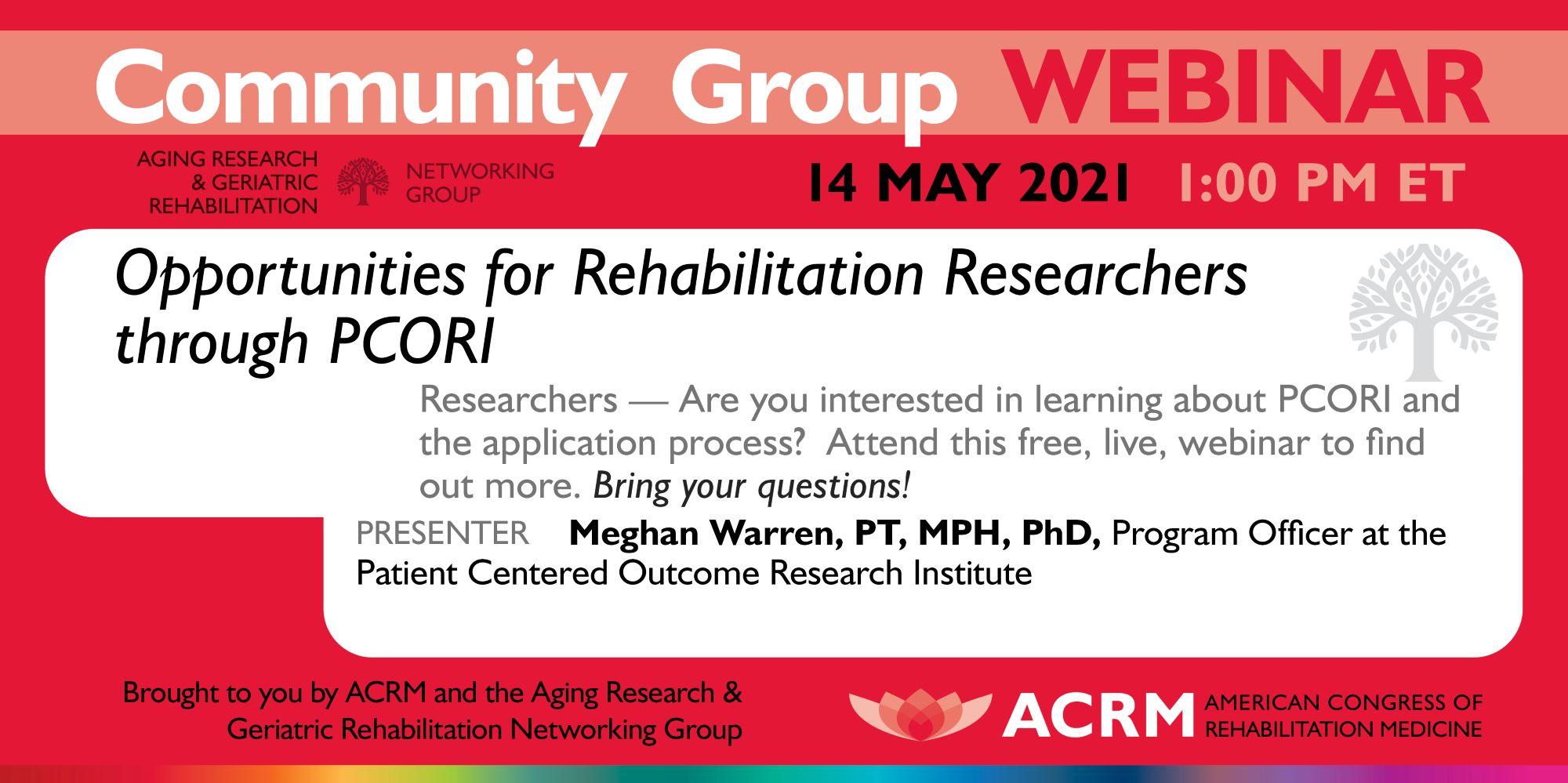 Upcoming ACRM Webinar image