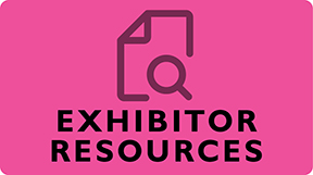 Links to exhibitor resources page.