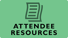 Links to attendee resources page.
