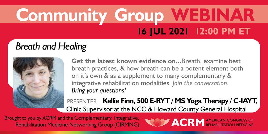 ACRM Complementary Medicine Webinar