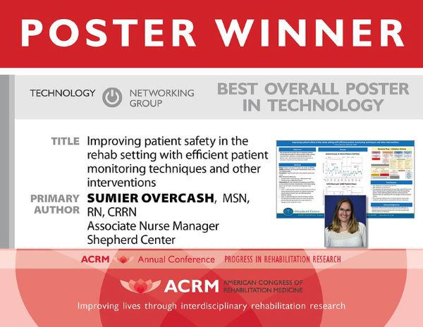 Best Overall Poster Award for Technology - IMAGE