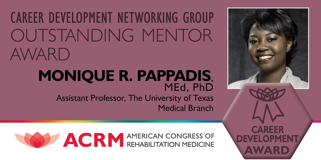 Monique Pappadis received the 2021 ACRM Career Development Outstanding Mentor Award - IMAGE