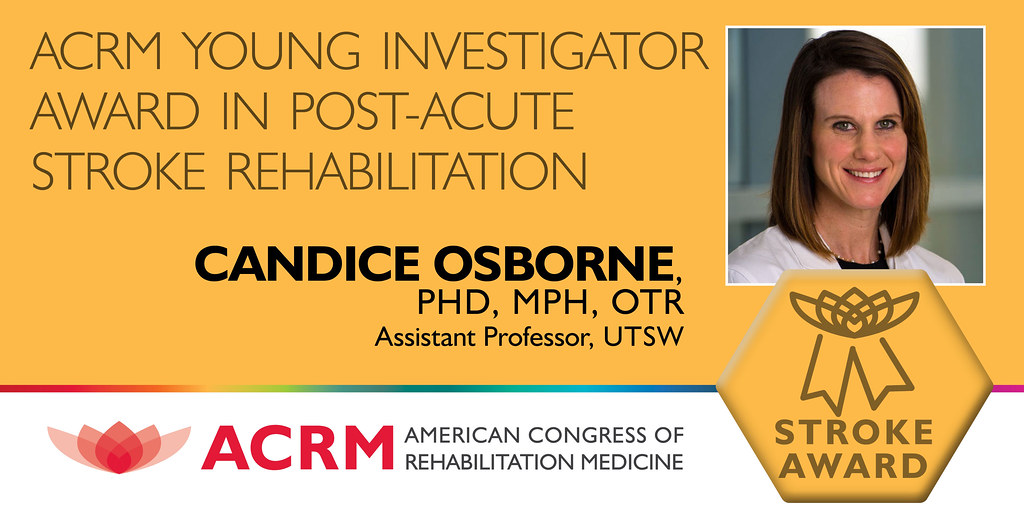 ACRM Young Investigator Award in Post-Acute Stroke Rehabilitation - IMAGE