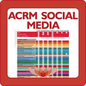 ACRM Social Media