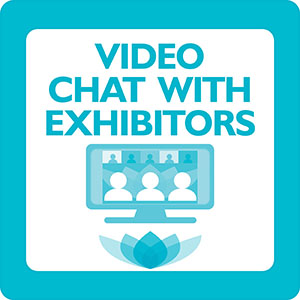 Video Chat with Exhibitors