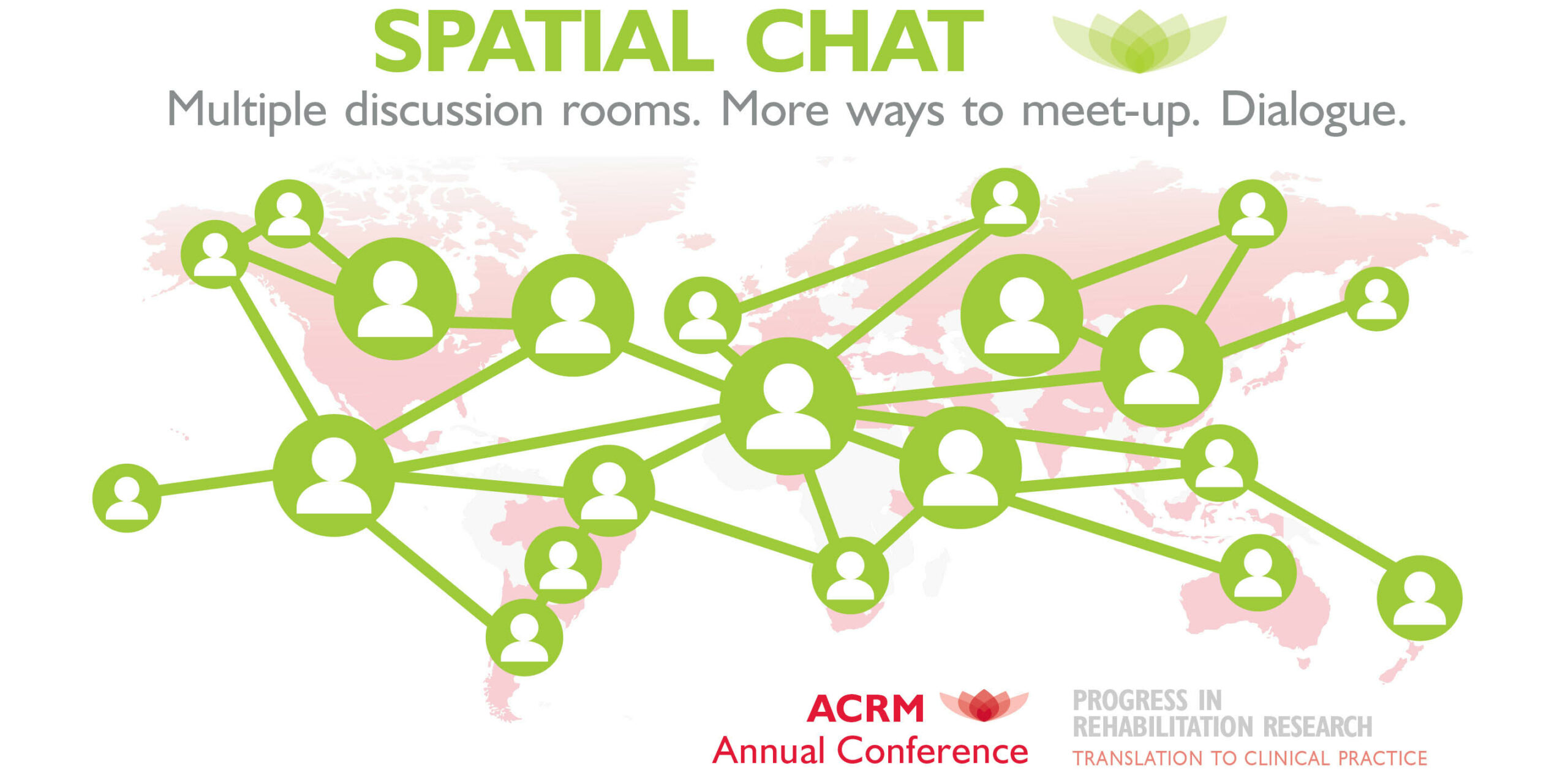 ACRM spatial chat at the Annual Conference