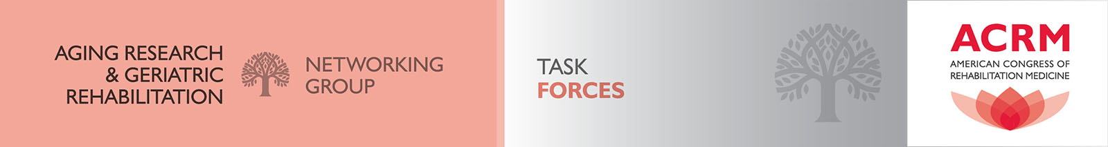 Aging Research and Geriatric Rehabilitation: Task Forces