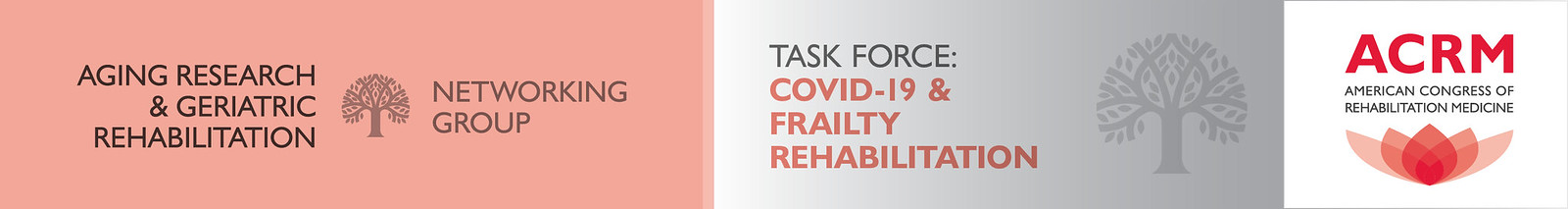 Aging Research & Geriatric Rehabilitation Networking Group COVID-19 Task Force header