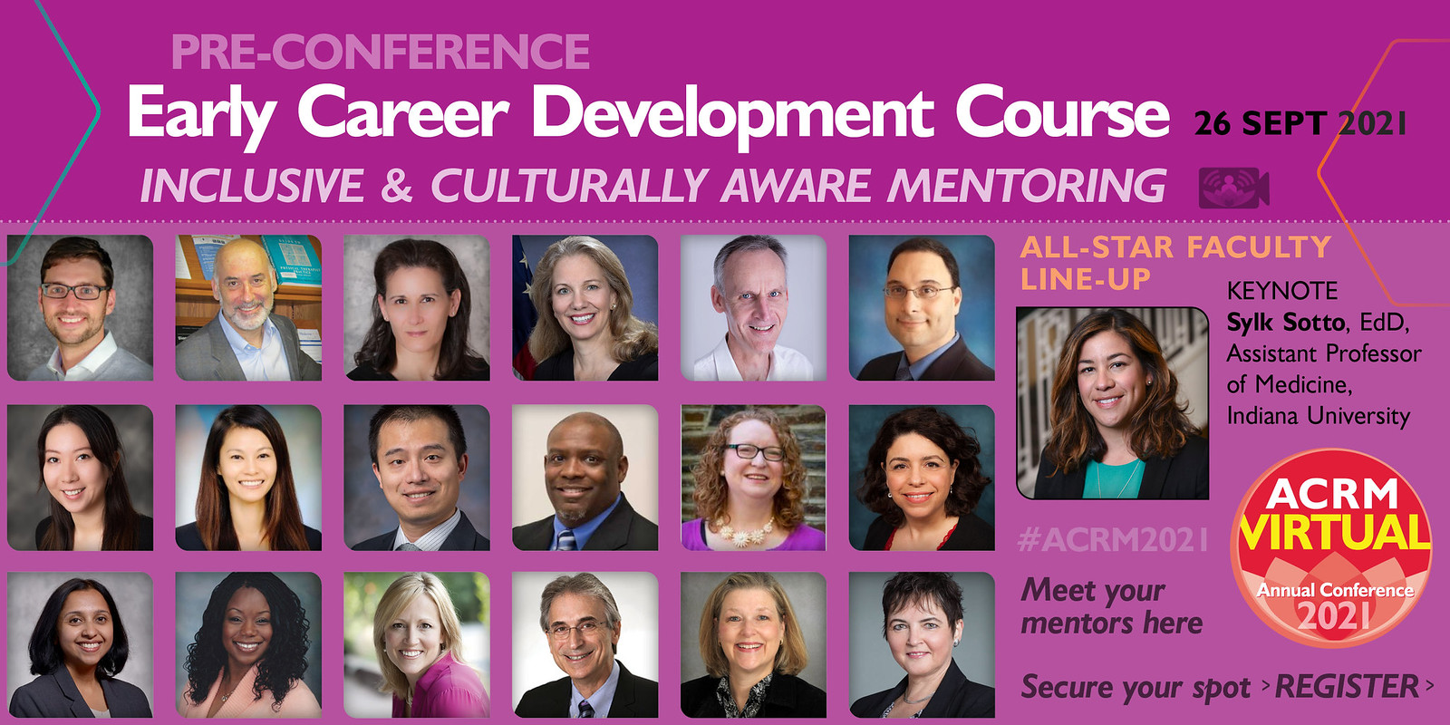 ACRM Early Career Development Course 2021 faculty image